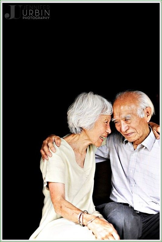 Elderly Asian couple Pinterest